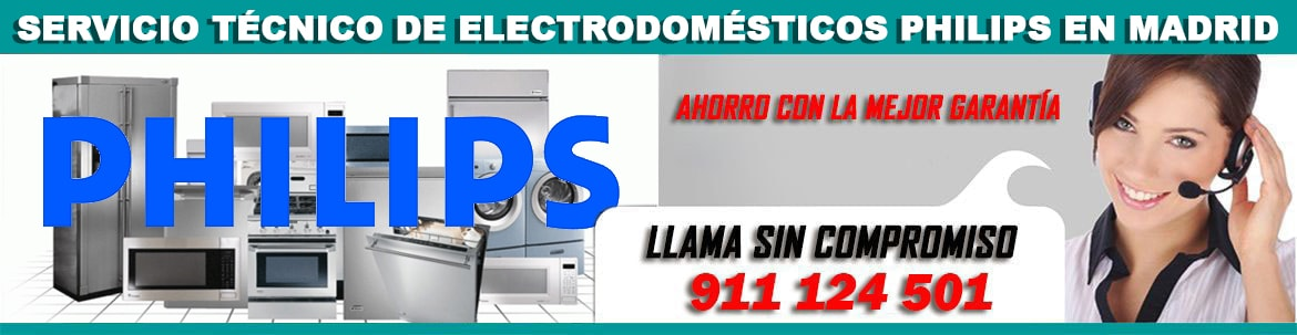 servicio tecnico philips madrid